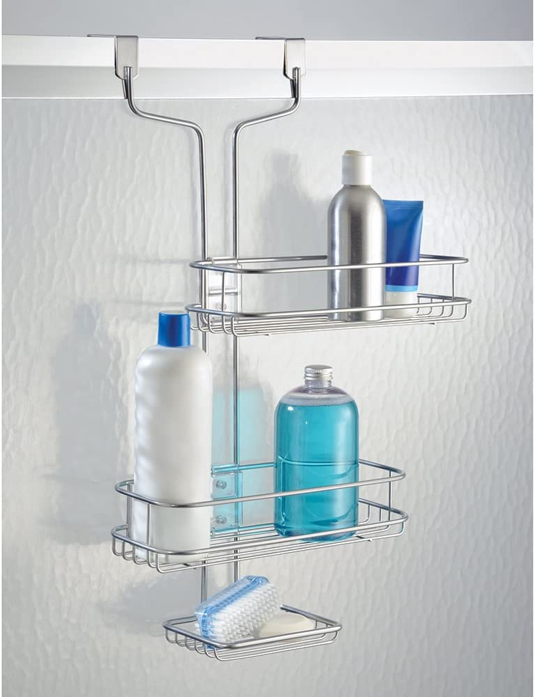 InterDesign Linea Estantería de baño para colgar, estante de ducha ...