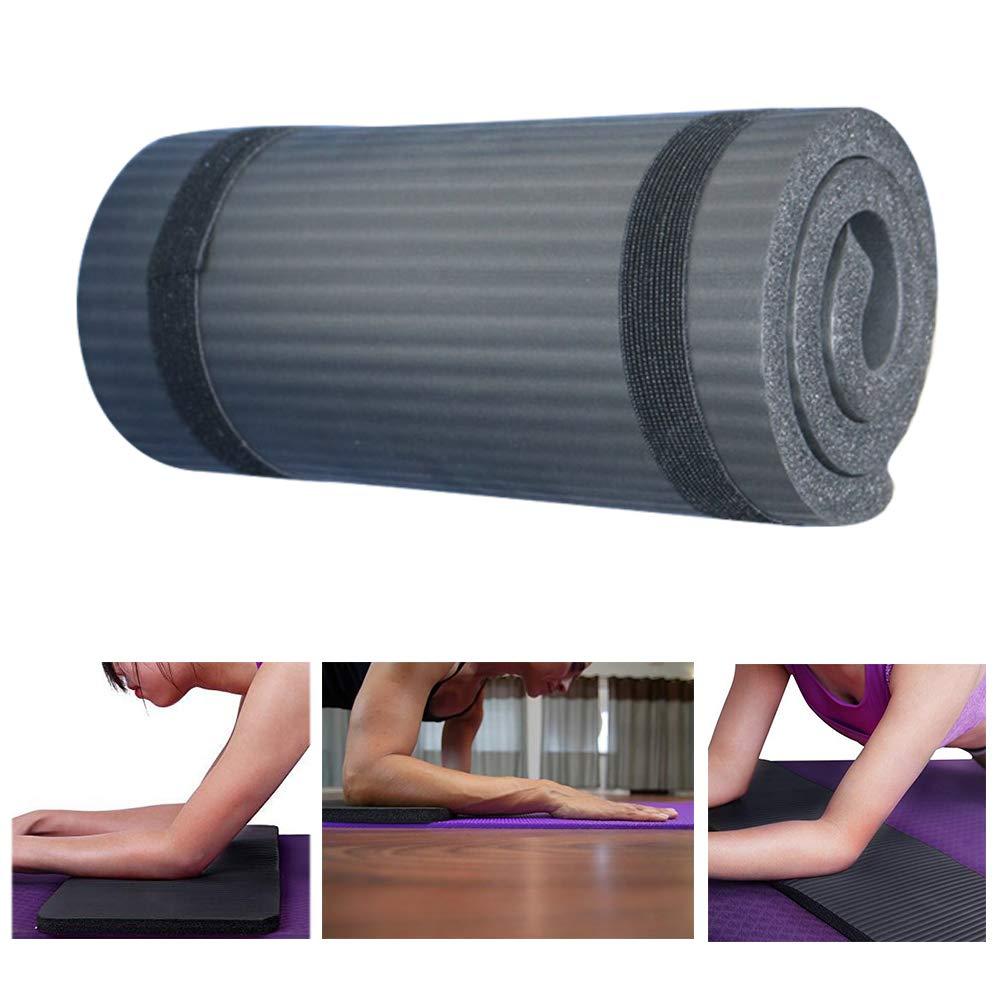 Blue Lumpna Yoga Mat Foldable Sports Cushion Gymnastics Gym Equipment Non Slip Soft Pilates for Beginner Exercise Fitness Lose Weight