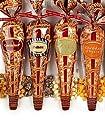 Popcornopolis Gourmet Popcorn - 4 Cones - White Cheddar, Zebra, Caramel & Kettle - Small Storage Space Friendly & Great Stocking Stuffers!