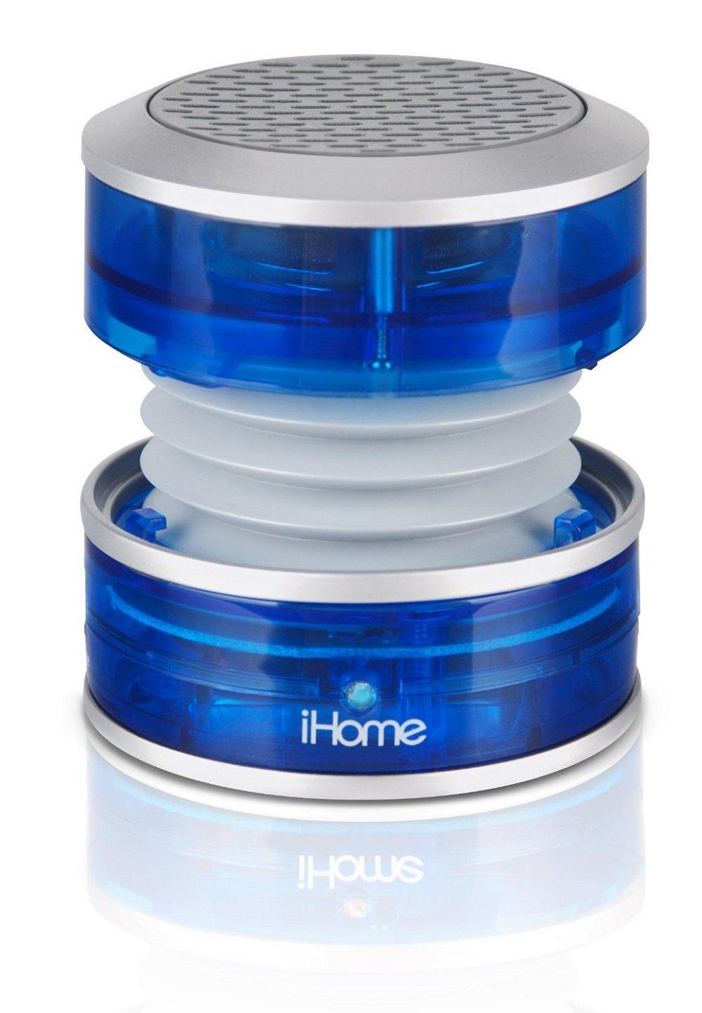 Amazon.com: iHome iM60LT Rechargeable Mini Speaker - Blue: Home ...