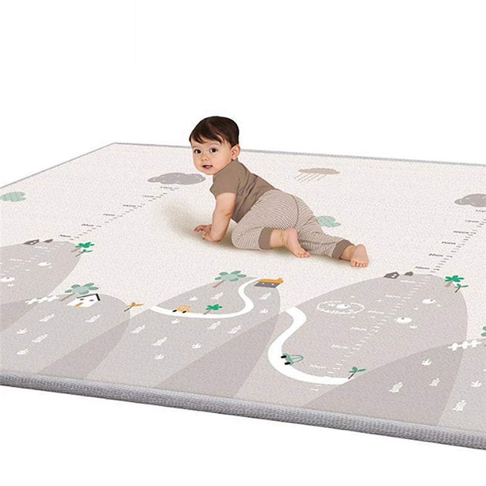 華麗 1センチ厚さベビーカーペット、ゲームマット、泡パズルパッド、子供クロールベビー毛布、78.75* 70.87インチ子供用* B07QT7JN7V, ペット健康便:6a827b7a --- outdev.net