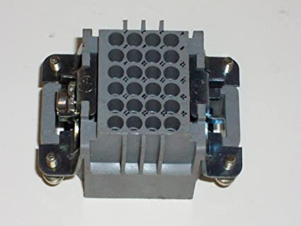 Heavy Duty Power Connectors HAN DD 24P M CRIMP ORDER CONTACTS SEP