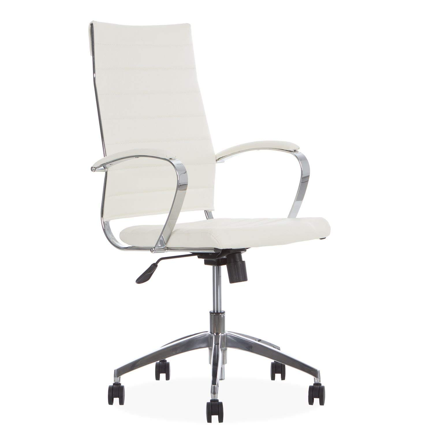 SuperStudio LO+DEMODA Stery High Back Silla de Oficina, Piel ...