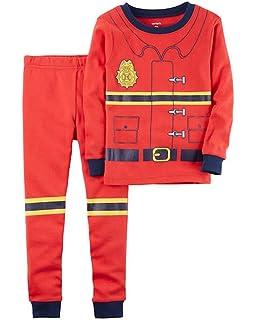 Carters Baby Boys 12M-24M One Piece Police Officer Cotton Pajamas