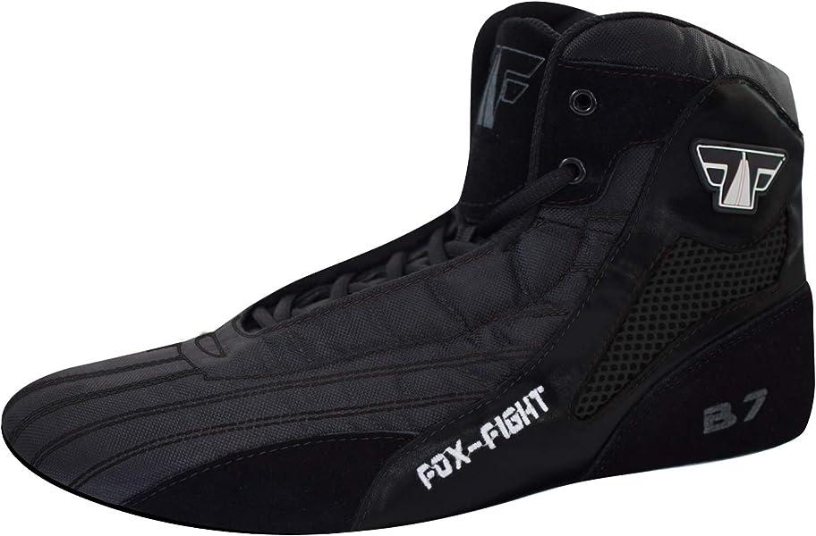 Fox-Fight FF2985 - Zapatillas de Artes Marciales de Sintético para Hombre, Color Negro, Talla 42 EU