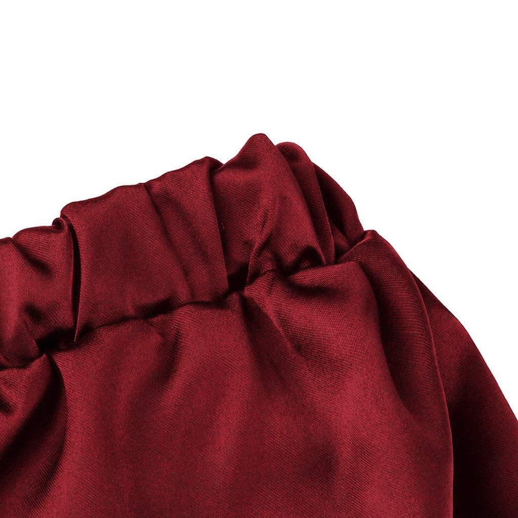 Linlink Mujeres Ropa De Dormir Sin Mangas Correa CamisóN Pijamas De Encaje para Damas Ropa De Muebles Trim Satén Top Pijama Sets: Amazon.es: Ropa y ...