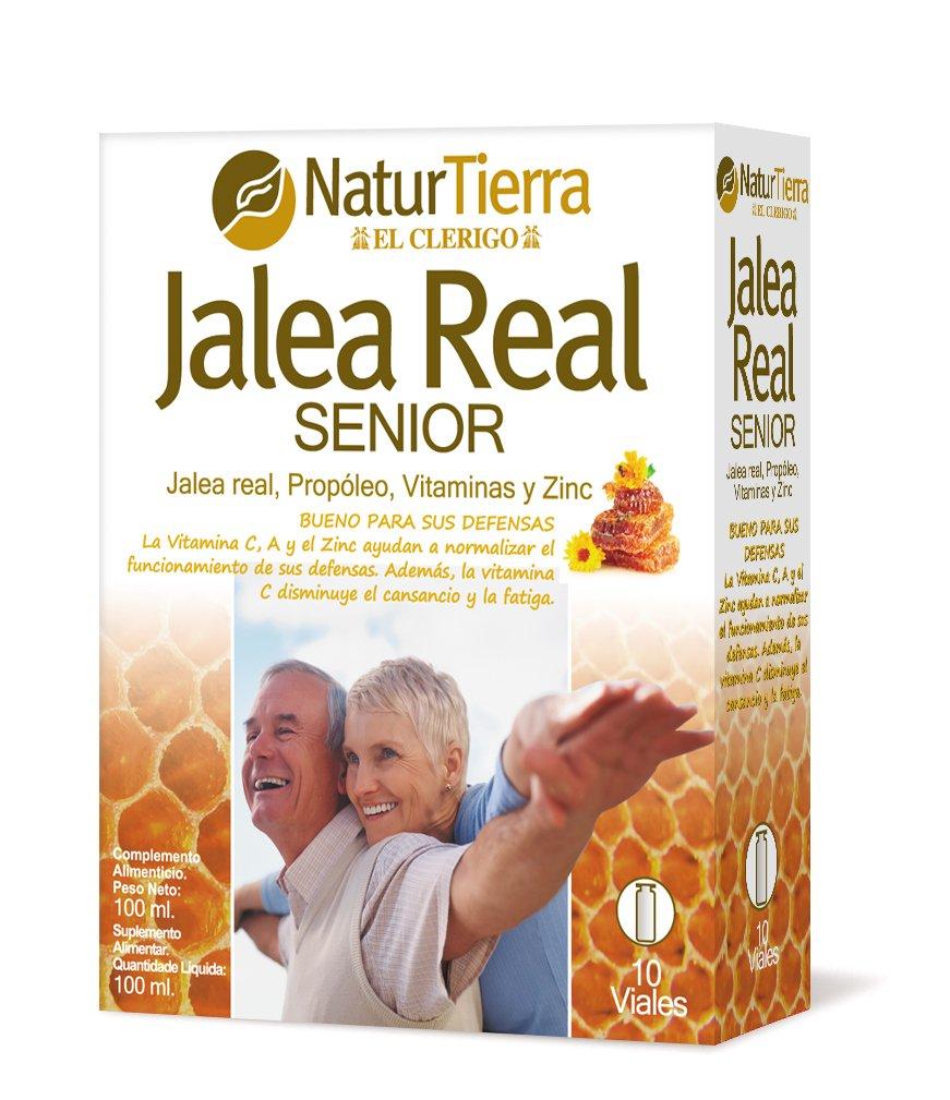Naturtierra Jalea Real Senior con Propóleo, Vitaminas y Zinc - 100 mililitros: Amazon.es: Salud y cuidado personal