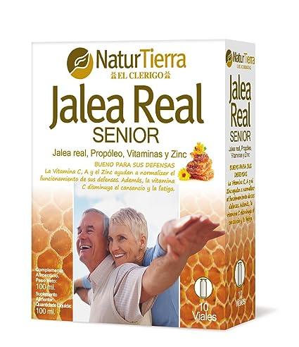 Naturtierra Jalea Real Senior con Propóleo, Vitaminas y Zinc - 100 mililitros