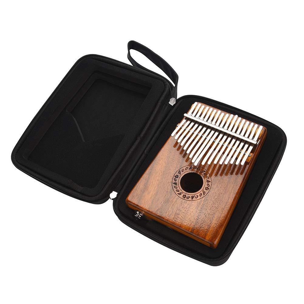 Kalimba 17 keys with Instruction and Tune Hammer, Portable 17 Key Wood Kalimba Thumb Piano Mbira Traditional Musical Instrument, Kalimba Thumb Piano Solid Finger Piano by Yosoo (Image #9)