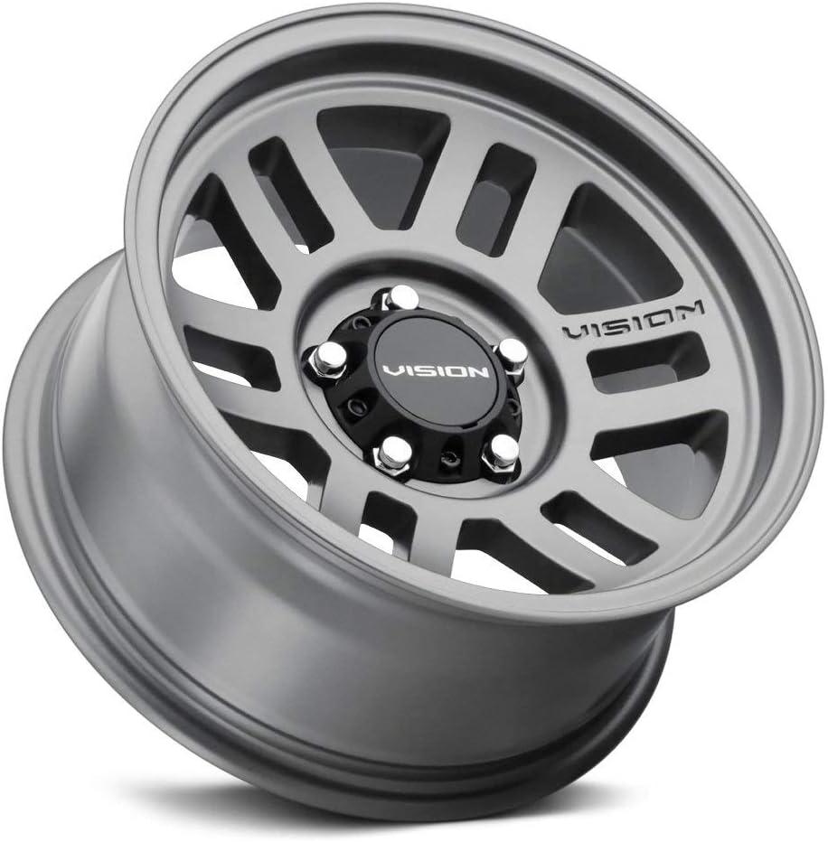 Vision 355 Manx 2 Overland 16x8 8x6.5 0mm Gunmetal Wheel Rim 16 Inch