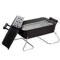 Gasgrill Char-Broil 1-flammig klein schwarz Camping Balkon Picknick ✔ eckig ✔ tragbar ✔ Grillen mit Gas