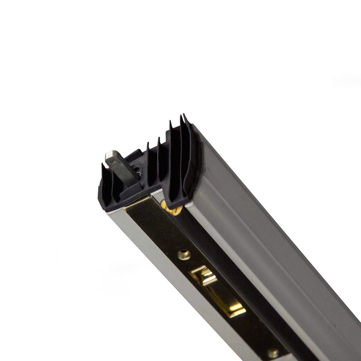 M-D Building Products 01560 WS059 Aluminum Locking Slide Bolt Combination Astragal