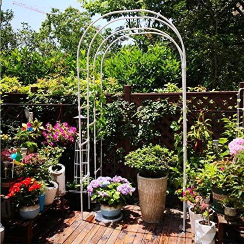 Arcos para Jardin Metal 1.5m De Ancho Entrada De Arco Escalada Rose Plant Trellis, para Jardín Fiesta De Bodas Vides De Cumpleaños Plantas Trepadoras Decoración: Amazon.es: Hogar