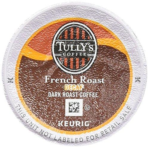 Tullys Coffee French Roast Decaf Dark Roast -- 24 ()