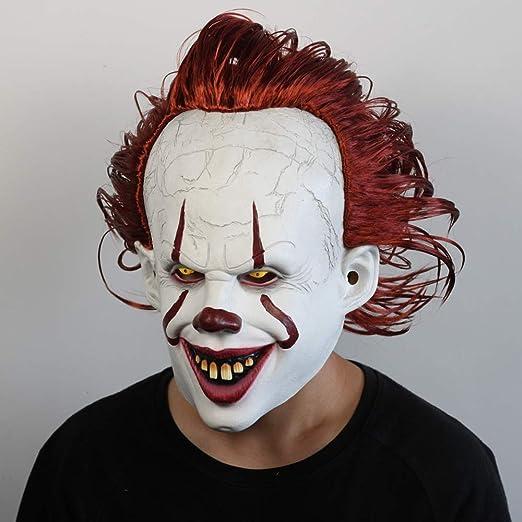 Newsland Halloween Payaso Espalda Spirit 2 Pennywise Máscara de ...