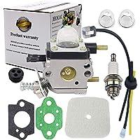HOOAI C1U-K54A Carburetor Repower Kit for 2-Cycle Mantis 7222 7222E 7222M 7225 7230 7234 7240 7920 7924 Tiller…