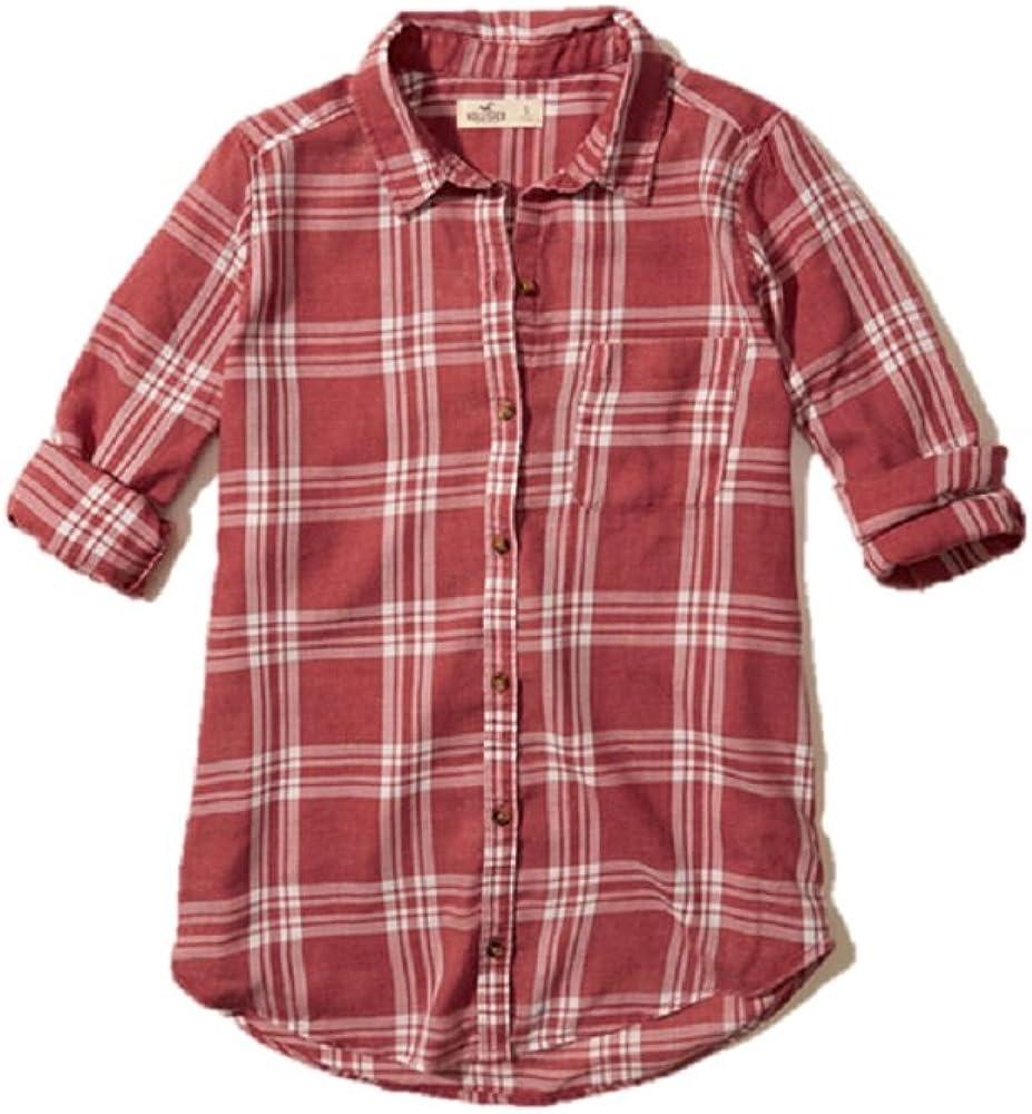 Hollister - Camisas - Manga Larga - para Mujer Rojo Rosso ...
