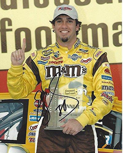 Autographed Elliott Sadler Photo - DRIVER from 1997 thru 2013 3 WINS 19 T 5 69 T 10 8x10 Color - Autographed NASCAR Photos