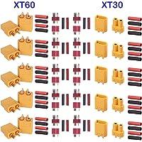 GTIWUNG 5 Pares XT60 Conectores, 5 Pares XT-30