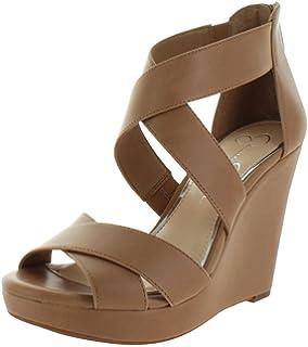 faf9265a64918 Amazon.com | Jessica Simpson Women's Jinxxi Wedge Sandal | Platforms ...