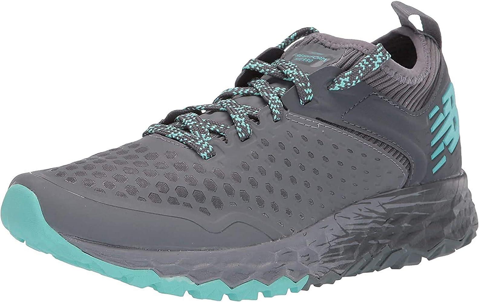 Reorganizar Obsesión entre  Amazon.com | New Balance Women's Fresh Foam Hierro V4 Trail Running Shoe,  Lead/Gunmetal/Light Tidepool, 5 D US | Road Running