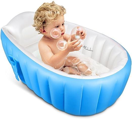 Bañera hinchable para bebé, OIF, portátil, para niños, bebés ...