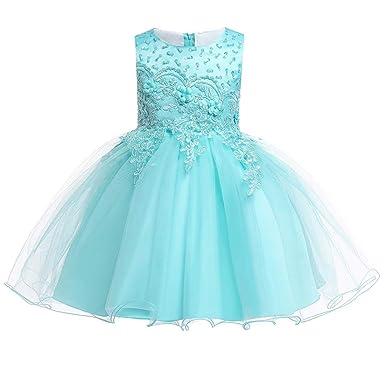 Adhs Vestido De Baile De Graduación Para Niñas Con Bordado