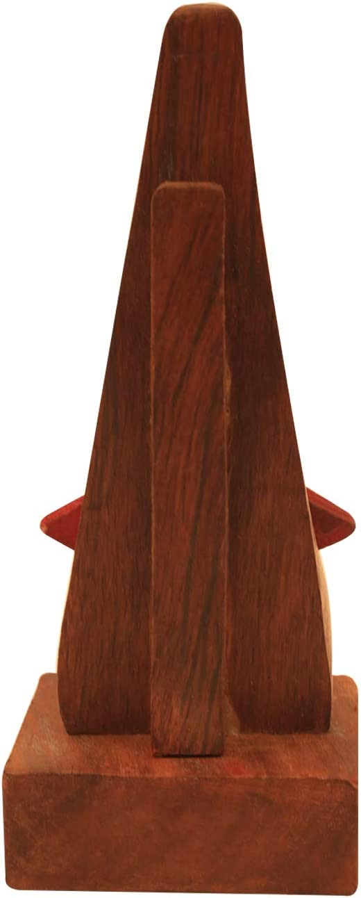 la f/ête des p/ères et la Saint-Valentin Cadeaux avec Emballage Cadeau Whopper Quirky en Bois en Forme de Nez en Forme de Lunettes Porte-Lunettes pr/ésentoir d/écoratif pour la f/ête des m/ères