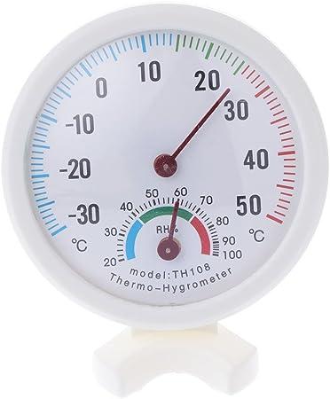 zrshygs Thermom/ètre Domestique Thermom/ètre int/érieur de Haute qualit/é pour thermom/ètre ext/érieur