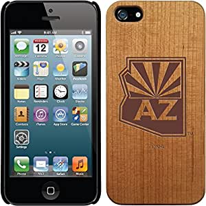 Coveroo iPhone 5/5S Madera Wood Thinshield Case with Arizona Coyotes Arizona State Design