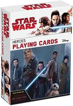 ASS Star Wars: El último Jedi héroes Juego de Cartas Juego: Amazon ...
