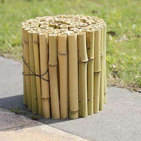 YINUO Cercos Cerca del jardín poste de la cerca de la pantalla de bambú resistente a