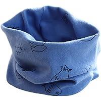 BIGBOBA Bufanda de Puro algodón para ni ntilde os Bufanda calentadora de Cuello para Viajar al Aire Libre en Oto ntilde…