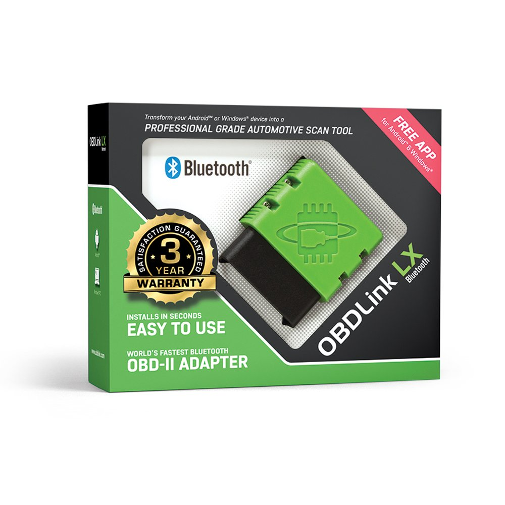 ScanTool OBDLink LX Bluetooth: Professional Grade OBD-II Automotive Scan Tool for Windows and Android - DIY Car and Truck Data and Diagnostics by OBDLink (Image #4)