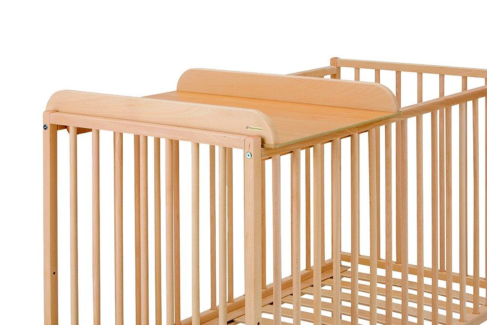 Tinéo 991501 Table à Langer en Bois Bébé COMH8