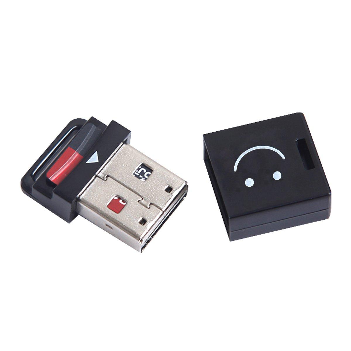 Chenyang USB 2.0 a micro SD T-Flash TF m2 cellulari e tablet lettore di schede di memoria nero formato mini CY LYSB00S6G7VFW-CMPTRACCS