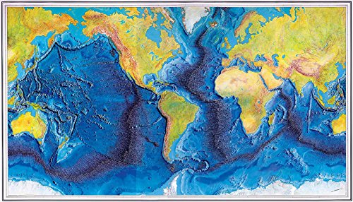 (The World Ocean Floor - MAP measures 24