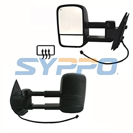 For 2007-2013 Chevy Silverado Tahoe GMC Sierra Power Heated Mirror Driver Left Side Replacement