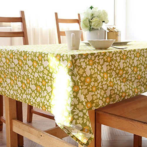 HOMEE Simple modern cotton fabric texture table cloth Christmas decorations,120X200cm by HOMEE
