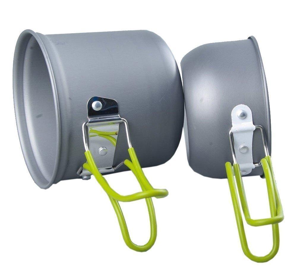 Amazon.com : RioRand Portable Cookware Backpacking Bowl Pot Pan ...