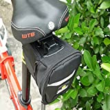 Waterproof Black Bike Saddle Bag Outdoor Cycling Back Seat Bag