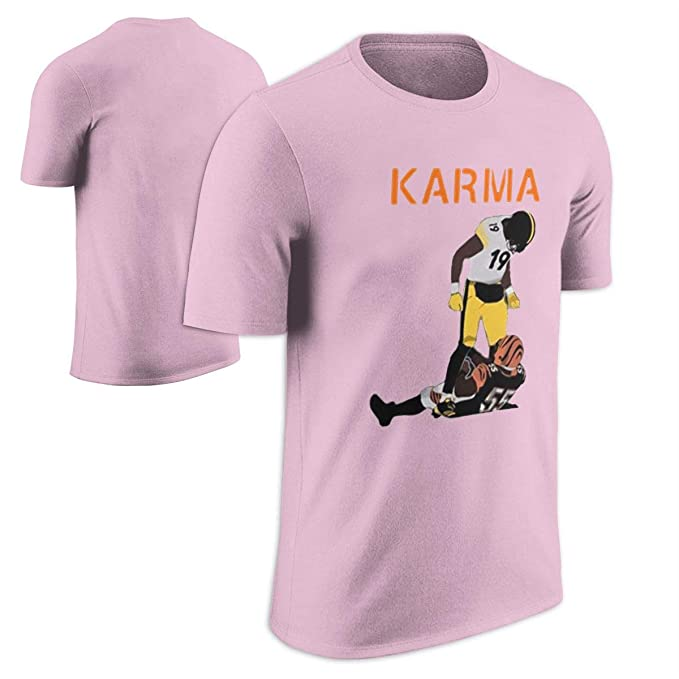 39a0ca049 Image Unavailable. Image not available for. Color  Steelers Karma Juju Smith -Schuster Vontaze Burfict Cool Football T Shirt