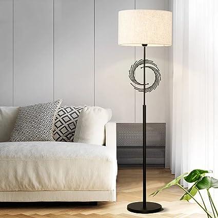 LXZ#Homegift Lámpara De Pie Nordic Minimalist Black Lámpara ...
