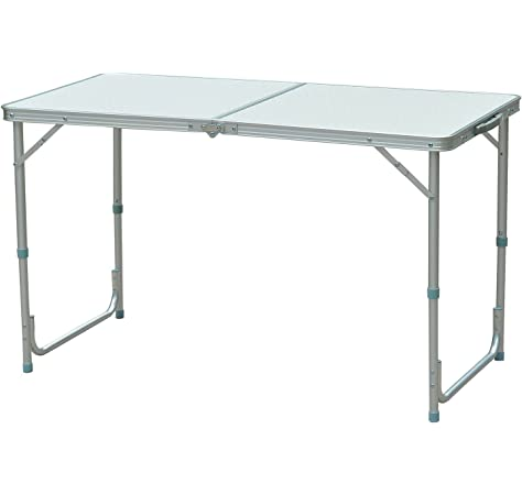 Park Alley Color Gris Antracita – Mesa Plegable Ideal para Buffet ...