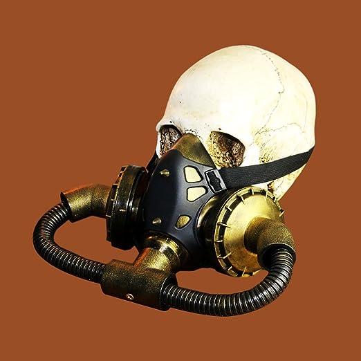 LUOEM Halloween Masquerade Steampunk Gas Máscara Decoración Festival Party Supplies Cosplay Props: Amazon.es: Juguetes y juegos