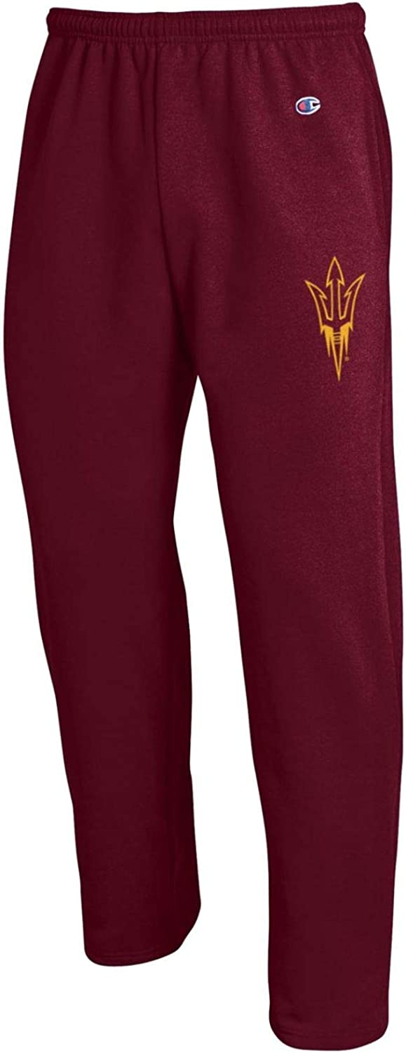Champion NCAA Men's Eco Powerblend Open Bottom Pant