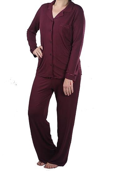 00e8b7485f84 Live Better With Soft Bamboo Pyjama Set  Amazon.co.uk  Clothing