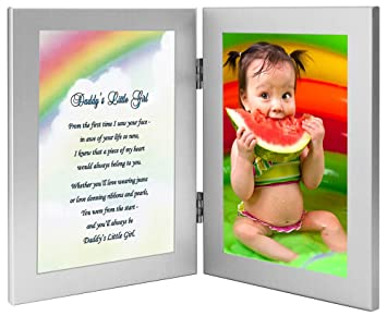 Amazoncom Daughter Gift From Dad Daddys Little Girl Poem In