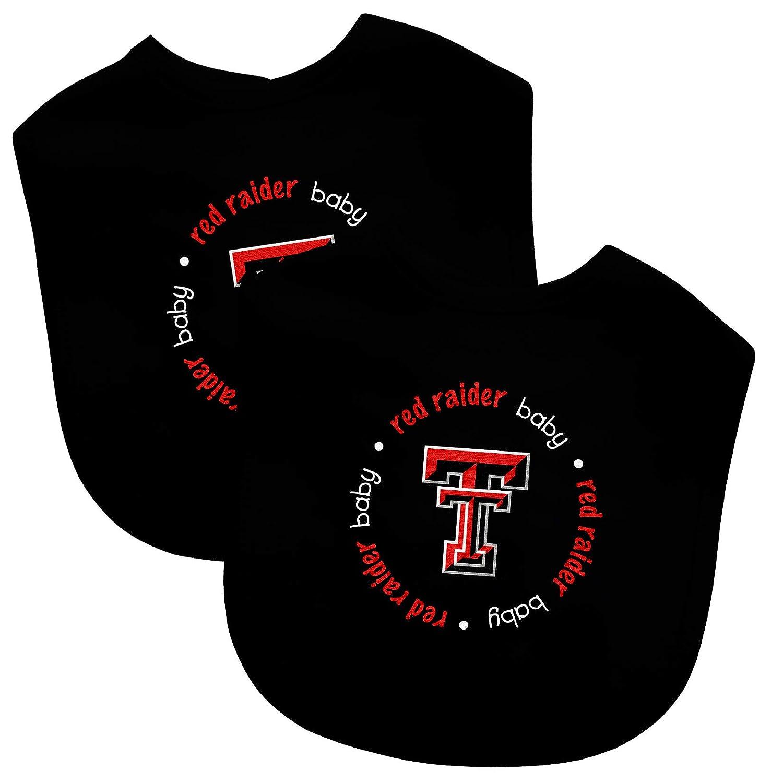 Sports Mem, Cards & Fan Shop Texas Tech Red Raiders Lil Fan Infant Baby Bibs 2 Pack