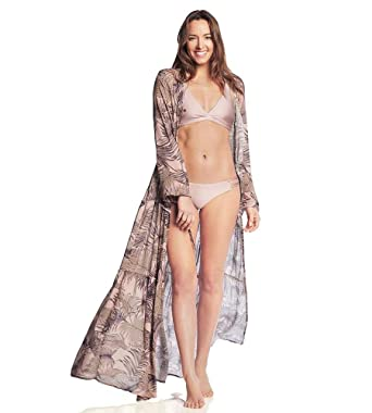 5b85f9d1a69 Maaji Let s Flamingle Long Kimono at Amazon Women s Clothing store